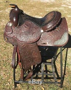 Circle Y Equitation Show Saddle Western 15 Seat