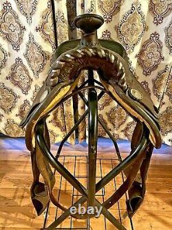 Circle Y Equitation Western Saddle 15 Inches