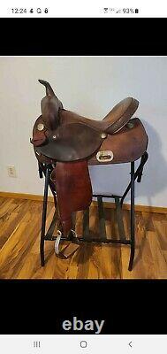 Circle Y NBHA Western Barrel Saddle 15