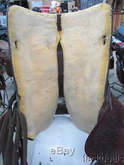 Circle Y Original Park & Trail 17 Saddle Lightly Used Nice Condition