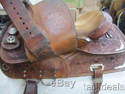 Circle Y Richard Shrake Show Saddle Lightly Used PERFECT