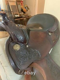 Circle Y Western Pleasure Equitation 15 Saddle