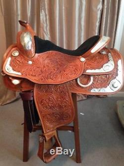Circle Y Western Pleasure Equitation Show 16 inches Saddle