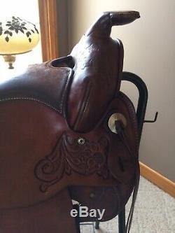 Circle Y Western Saddle 15 Inch