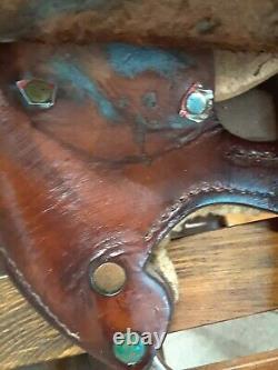 Circle Y Western Saddle FQHB & round skirt Barrel racing or trail