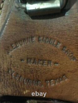 Cleburne saddle western horse 17in cutting