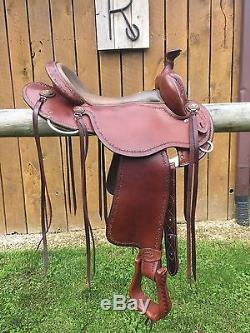 Clinton Anderson Aussie Style Martin Saddle 16 Western