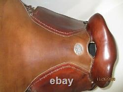 Clinton Anderson Martin Australian Outback Saddle 15 Wide Trail Western