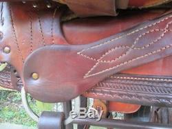 Coats Calf Roping Saddle