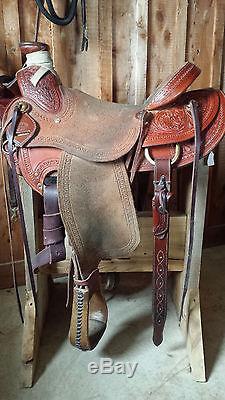 Corriente Wade Ranch Saddle 16