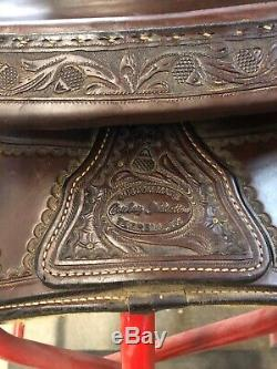 Cowboy Collection Ranch Cutter Western Saddle 16, Price Reduced