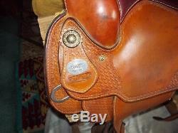 Crates Classic Reiner western horse saddle