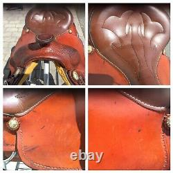 Crates Classic Trail 16 Western Saddle With Round Skirt