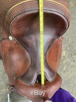 Crates Western Reining saddle 16 FQHB