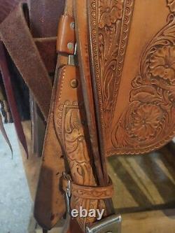 Custom Western Saddle 15, Wade Saddle