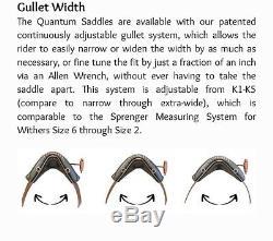 DP Saddlery Quantom Western Dressage Saddle With Girth/upgraded Stirrups/DP Covr