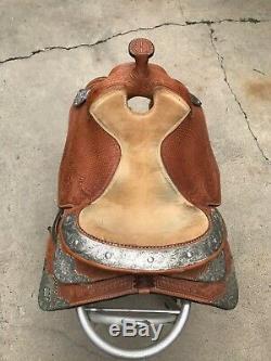 Dale Chavez 16 Western Show saddle