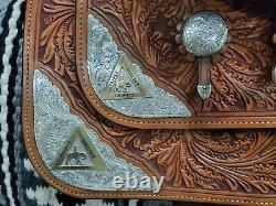 Dale Chavez 16 inch Western Show Saddle. Brand New, Never Been Used