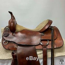 Dale Chavez 17 Western Saddle
