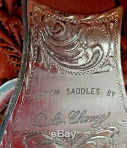 Dale Chavez Custom Western Show Saddle UC58