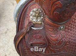 Dale Chavez Western Ranch Cutter Cutting Saddle