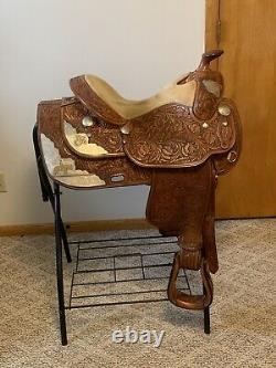Dale Chevez Western Show Saddle