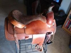 Draft Size 1951 Buffalo Roping Western Saddle 19