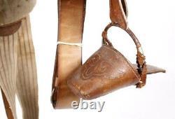 Early Antique Supple Leather Side Saddle Vintage Western