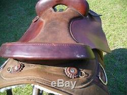 Fabtron Western Cordura Trail Saddle with 17 Seat and Full QH bars