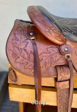 Fallis Balanced Ride 15 Western Saddle With Fittings
