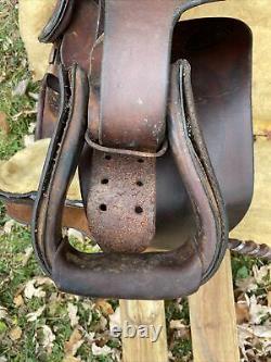 Hereford Brand 16 Leather Western Horse Saddle