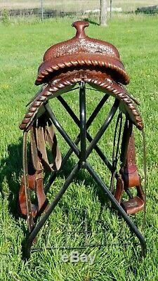 Herford Western Saddle 15inch