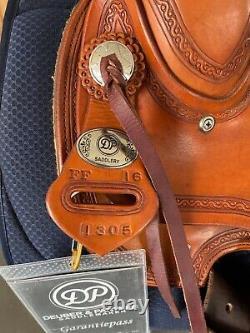 Hochwertiger Westernsattel Deuber&Partner Saddlery Flex Fit Vario mit Garantie