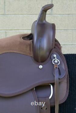 Horse Saddle Western Used Trail Gaited Endurance Custom Tack Set 15 16 17 18