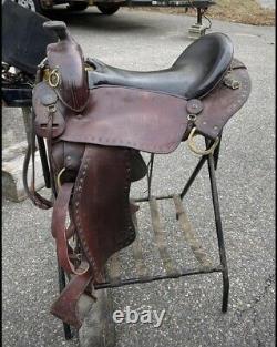 Imus 4 Beat Gaited Western Saddle