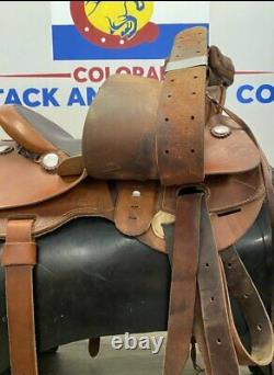 John Fallis Custom Western Saddle 16