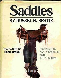 LARGE Hardback Western SADDLE History Book Encylopedia by BEATIE