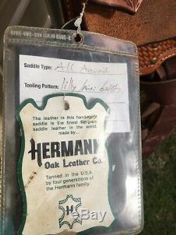 Lightly used 16 Scott Thomas Western roping/all around trophy saddle US made