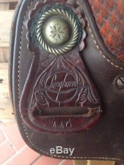 Longhorn 16 Western Cutting Saddle