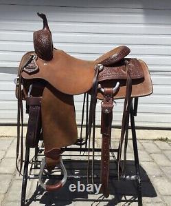 Loredo Cutter 17 Western Saddle