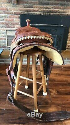 Martin All Around, Western Saddle 15.5 Seat fqhb