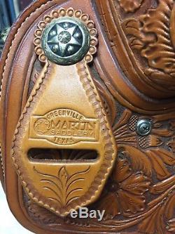 Martin Western Roping 15 Saddle