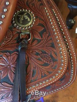 Martin Western Shooter Saddle 16 Seat