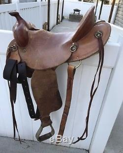 McCall 16 Summit SaddleVery Light All Around Ranch and/or Trail Riding Saddle