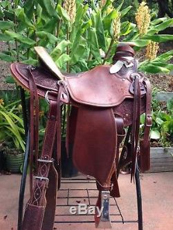 McCall lady wade westren saddle, 15 inch seat