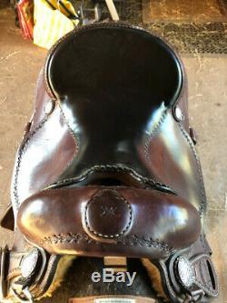 Mike Corcoran western saddle 16 hardly used