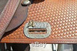 NBHA western barrel saddle 15