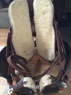 Ortho-Flex Western Saddle 14