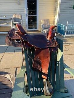 Ortho flex 16 western saddle with rear cinch