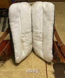 OrthoFlex The Baron Western Saddle Leather with Orig Girth Rear Cinch $2600 MRSP